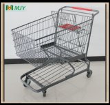 アメリカのスーパーマーケットの金属の買物車Mjy-210c