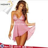 工場Hot Underwear Sexy Lingerie安い成長したLadiestransparentのBodysuitの女性