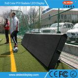Sinal do indicador de diodo emissor de luz do anúncio P10 ao ar livre para o estádio