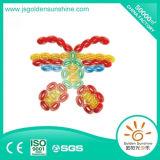 Giocattolo intellettuale del mattone della costruzione del giocattolo di plastica dei bambini con il certificato di CE/ISO
