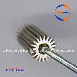 Rullo di alluminio della pala per i prodotti di FRP