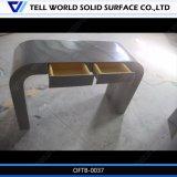 Vertel Wereld Acryl Stevige Oppervlakte het Moderne Bureau van het Ontwerp
