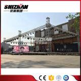 Fascio di alluminio di alluminio del tetto usato struttura della fase della sfilata di moda di cerimonia nuziale di concerto