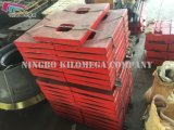 De Plaat van de knevel voor de Maalmachine van de Kaak 500*750 en 600*900