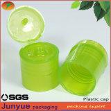20/415 tapón de dispensación superior de la botella del cierre de la botella del tirón que atornilla plástico