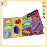 Service d'impression de livre de carton d'enfants (OEM-GL001)