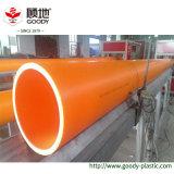 Tubo alto-bajo enterrado del tubo PVC-C de la protección del alambre del cable del voltaje