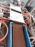 Linha composta plástica de madeira da extrusão do Decking do PE WPC por Sj-65/132