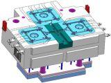 Прессформа давления алюминиевого вентилятора кожуха частей заливки формы высокая