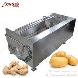 Máquina industrial da limpeza da batata da máquina de lavar do gengibre