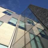 Le granit résistant aux chocs des panneaux en aluminium de pierre Honeycomb pour capot colonne