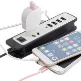 Один порт ЕС мобильного телефона Leaf зарядное устройство с помощью кабеля USB