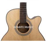"""Chitarra acustica del Basswood 40 di musica di Afanti """" (AAG-116)"""