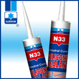 Puate d'étanchéité flexible de silicones pour l'acier inoxydable d'adhérence/métal