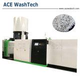 El reciclaje de plástico PP PE de ventilación de vacío único tornillo extrusor