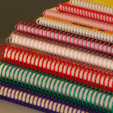 Reliure spirale en plastique de la bobine