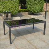 Vector y silla simples de cena de la rota del PE del estilo del jardín al aire libre