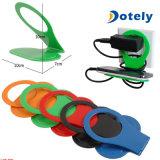 Foldable 셀룰라 전화 비용을 부과 선반 홀더 벽 충전기 접합기 걸이 선반