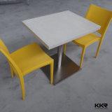 Tableau dinant de Kfc de meubles de marbre de grand dos moderne de dessus