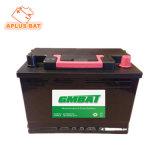 Стандарт DIN батареи автомобиля хорошего сбывания безуходный 12V 75ah