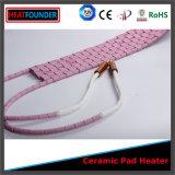 Almofada de aquecimento cerâmica flexível da indústria da almofada de aquecimento do calefator