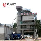 máquina de mistura de plantas de lote de asfalto na construção rodoviária