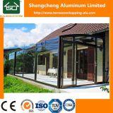 Sunrooms móveis com o telhado da folha do policarbonato