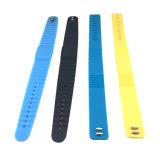 Bracelet imperméable à l'eau des silicones Ntag213 NFC pour la gymnastique