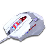 contraluz óptico del ratón del USB del juego 7D