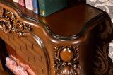 Antikes Holz LED beleuchtet Heizungs-Schlafzimmer-Möbel-elektrischen Kamin