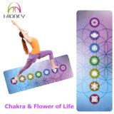Цветастой циновка йоги Dreamcatcher Chakra напечатанная таможней Microfiber акварели