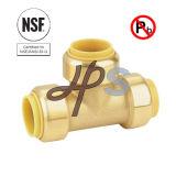Les ventes chaudes branchent vite le couplage droit en laiton sans plomb USD pour Pex/pipe de cuivre