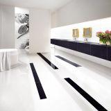 Azulejo de suelo Polished vitrificado blanco como la nieve de la porcelana del azulejo del precio barato