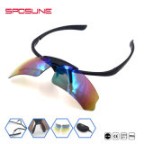 Gafas de sol corrientes de los deportes de los vidrios del deporte de Rx del Ce de las gafas de sol del Mens barato