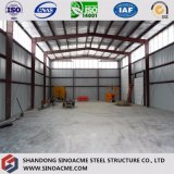 Sinoacmeは軽い構造スチールの構造の倉庫を組立て式に作った