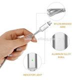 Usine magnétique de gros Câble USB câble de données chargeur USB tressé pour téléphone mobile