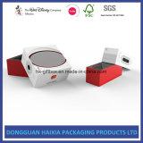 Rectángulo de papel de lujo del diseño de empaquetado para los regalos de los Speakerphones de los receptores de cabeza