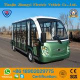 세륨은 고품질을%s 가진 11 Seater에 의하여 둘러싸인 전기 관광 버스를 승인했다