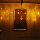 Licht des Vorhang-1m60LED mit Stern anerkanntes Ce&RoHS
