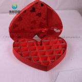Настраиваемые в форме сердечка свадебное картона Подарочная упаковка