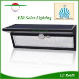 Sensor de movimiento por infrarrojos de la luz solar LED iluminación de exterior con Ce/RoHS