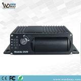 Da sustentação móvel do registrador do carro da segurança 3G GPS WiFi 4CH monitoração remota DVR