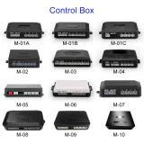 Новаторский светодиодный дисплей 8 датчиков парковочный датчик системы на передней и задней панели автостоянка