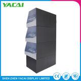 Exposición de seguridad personalizado papel cartón de soporte de pantalla para tiendas