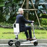 Tres ruedas Scooter eléctrico plegable Trikke Scooter de movilidad en bicicleta eléctrica para Elder