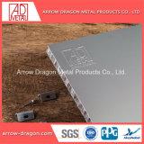 Isolation acoustique personnalisé Panneau alvéolé pour façade en aluminium