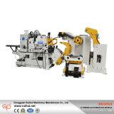 3 en 1, máquina serva del alimentador de la precisión del rodillo del Nc de la enderezadora de Uncoiler, máquina que lamina (MAC4-600)