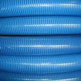 O PVC resistente a óleo de descarga e sucção de hélice a mangueira de água
