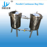Industrial Filtration de l'eau poli en acier inoxydable Duplex Sac parallèle le logement du filtre