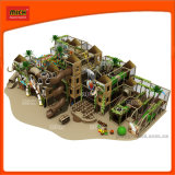 China Wenzhou diapositiva de la estructura de tubo suave interior para niños juegos de jardín con diapositivas de volcán y escalada